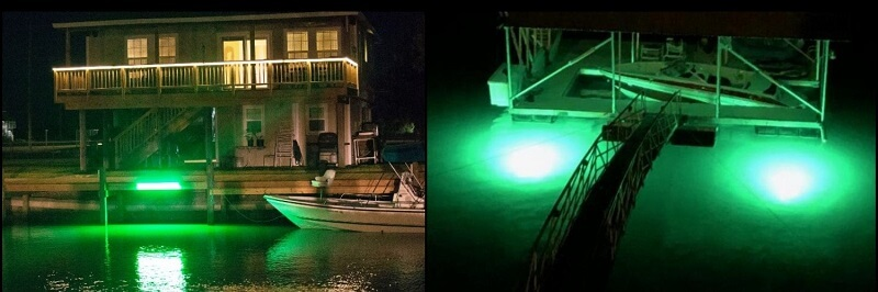 Dock and Pier Lights-Above Water or Underwater?