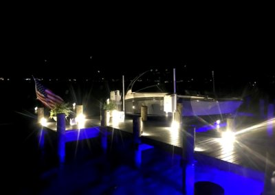 alumiglo dockpro 16000 led blue dock light brach1