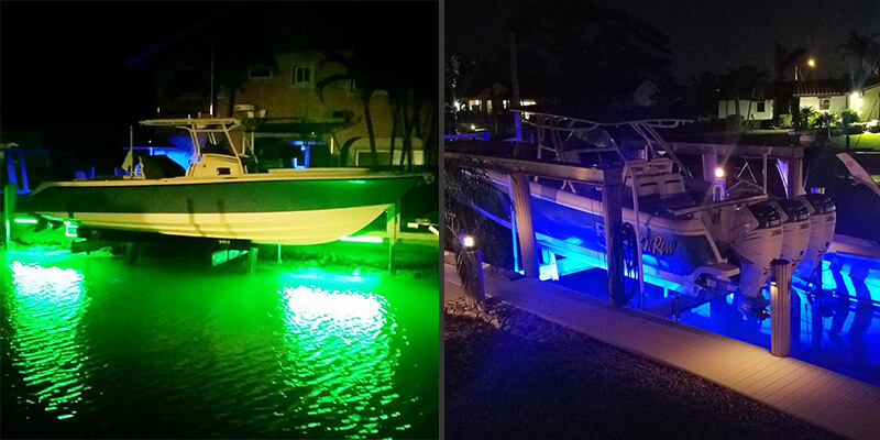 Does Color Matter for Fishing Lights and Dock Lights?
