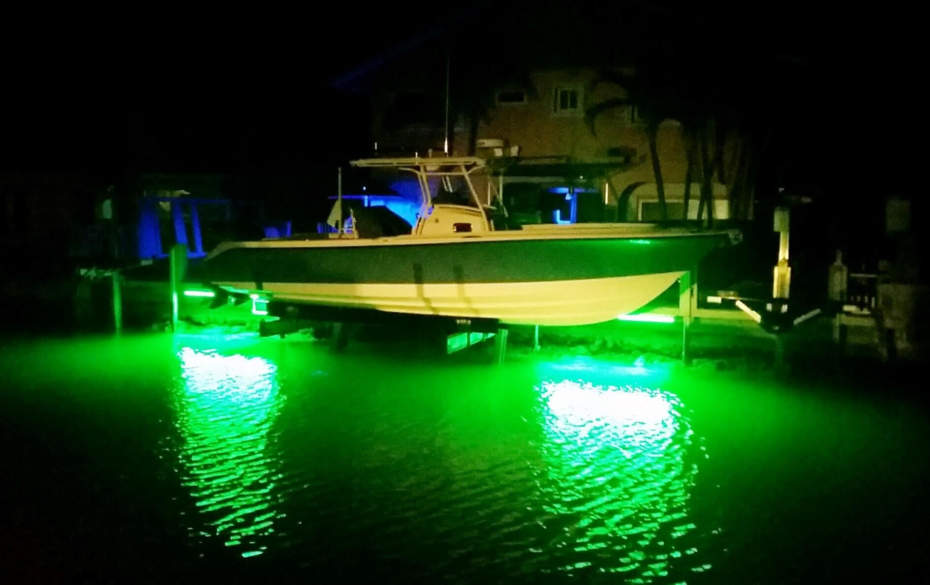Marine Led Dock Lights Dock Amp Pier Fishing Lights