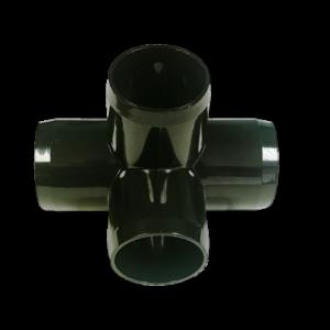 alumiglo flounderpro 4 way pvc elbow